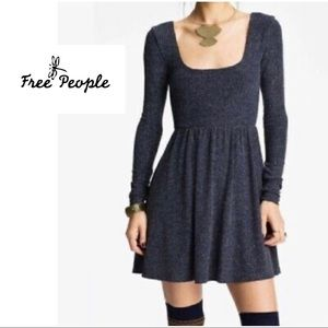 Free People Shimmer accent Skater Dress